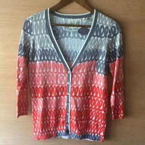 Anthropologie Field & Flower Cardigan Cashmere S
